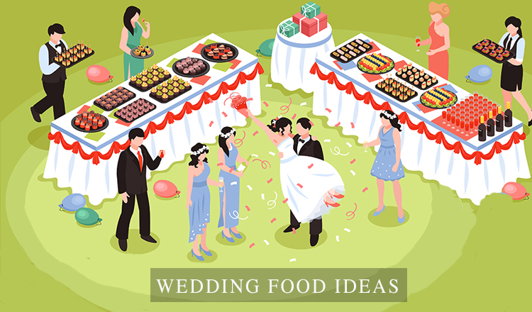 33 Best Wedding Reception Food Ideas on a Budget
