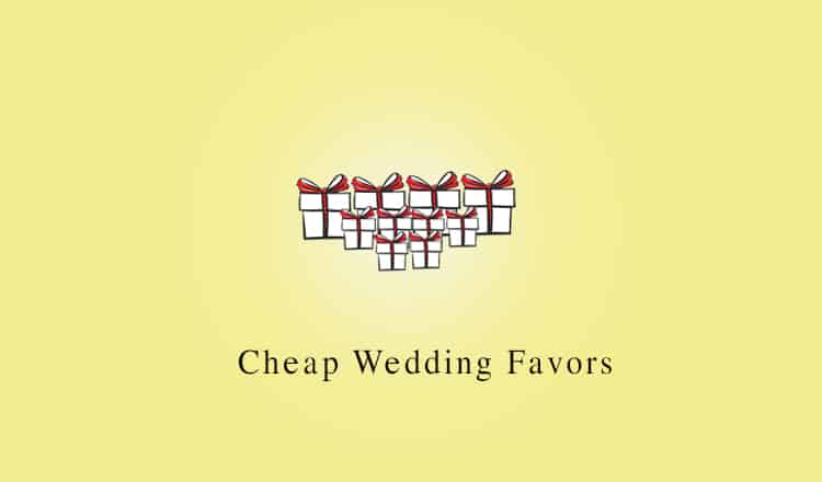 33 Cheap Wedding Favors Your Guests Will Love