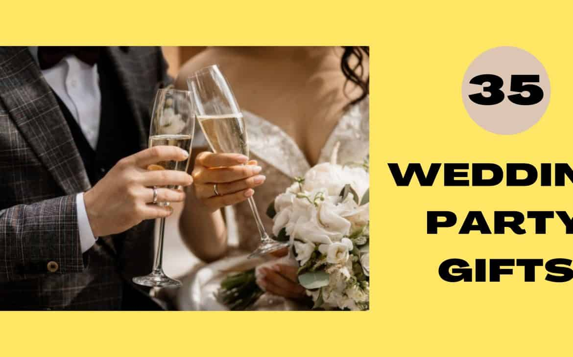 wedding party gifts banner