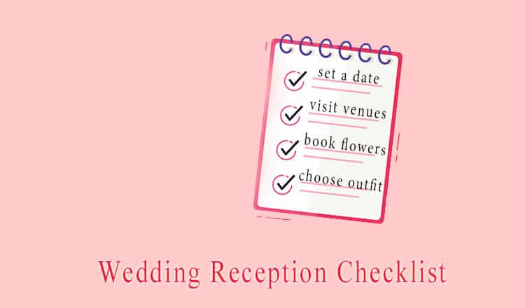 The Ultimate Wedding Reception Planning Checklist for 2021