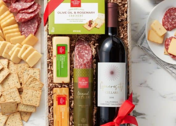 Wine & Savory Snack Collection - wedding party gifts