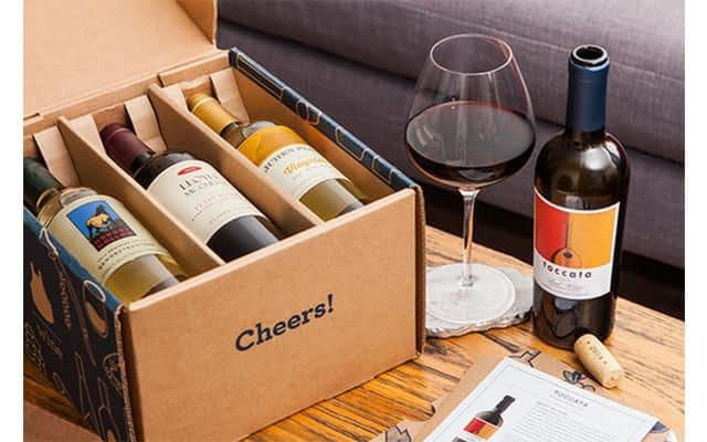 gifts for couples moving in together:wine-subcription
