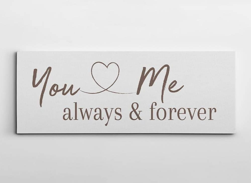 You-And-Me-Always-And-Forever-Canvas-Print