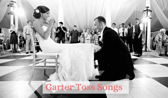 garter toss songs