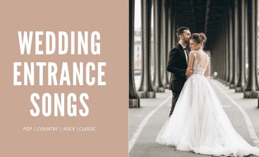 wedding entrance songs - thumbnail