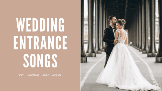 wedding entrance songs - thumbnail