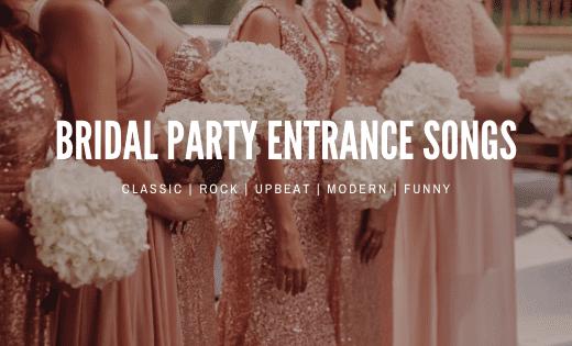 bridal entrance songs thumbnail