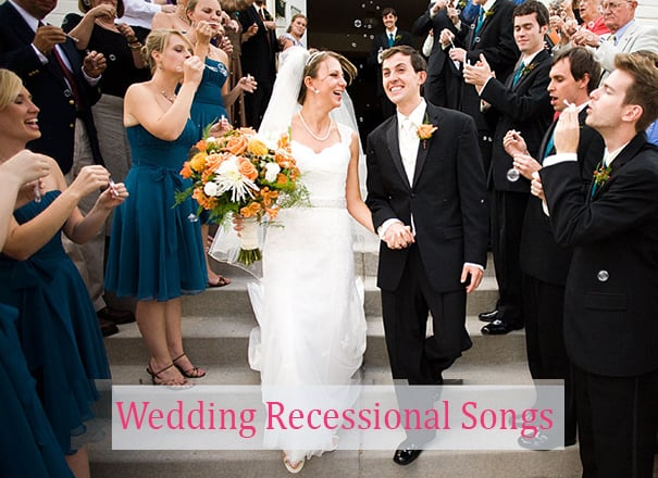 77+ Best Songs for Your Wedding Recessional in 2021