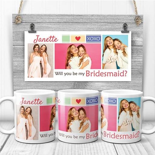 bridesmaid proposal gifts:Bridesmaid Coffee Mug