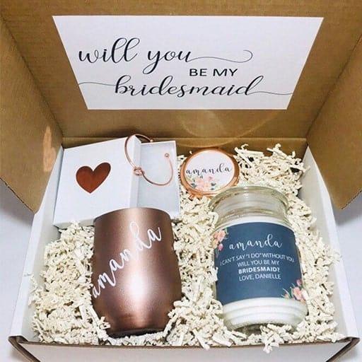 bridesmaid gift boxes:Bridesmaid Gift Box