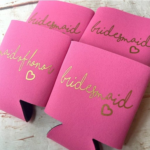 cheap bridesmaid gifts under 10:Can Coolers