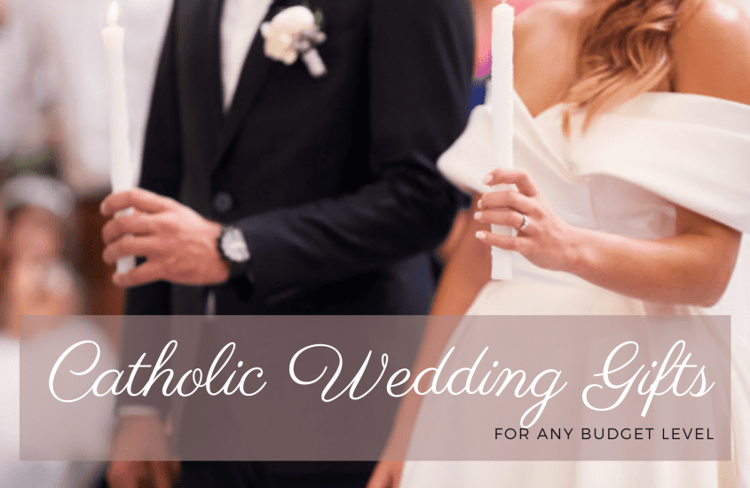 19+ Inspiring Catholic Wedding Gifts the Bride and Groom Will Love