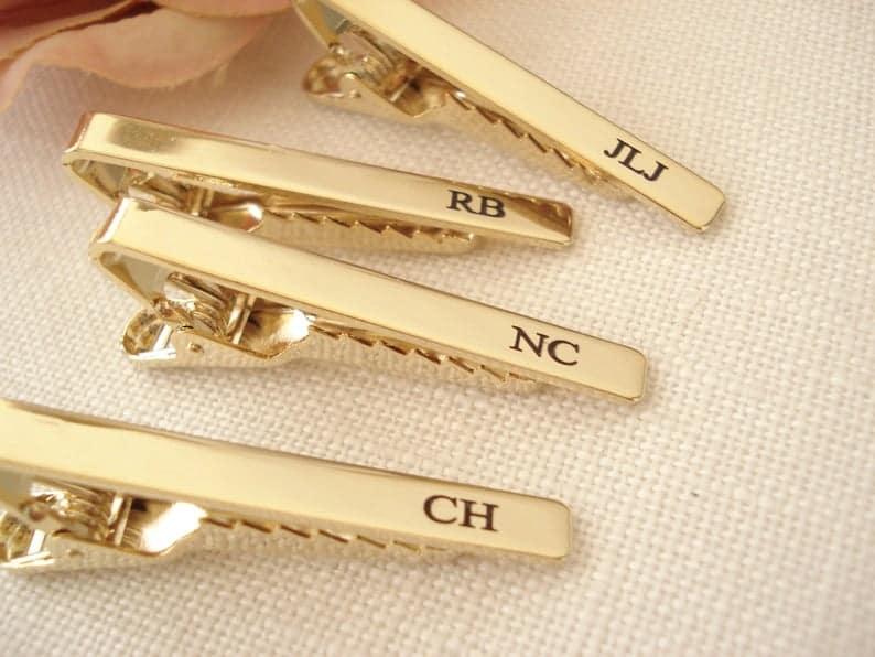 Custom Engraved Tie Clip