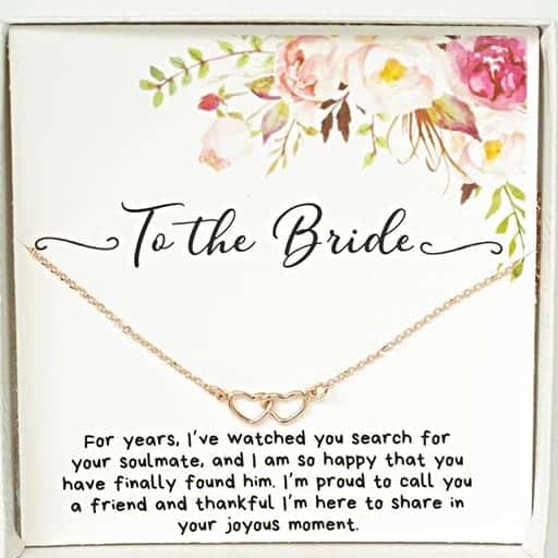 Necklace : gifts for a bride to be
