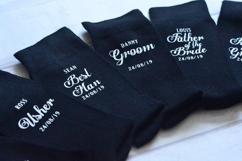 Personalised Wedding socks