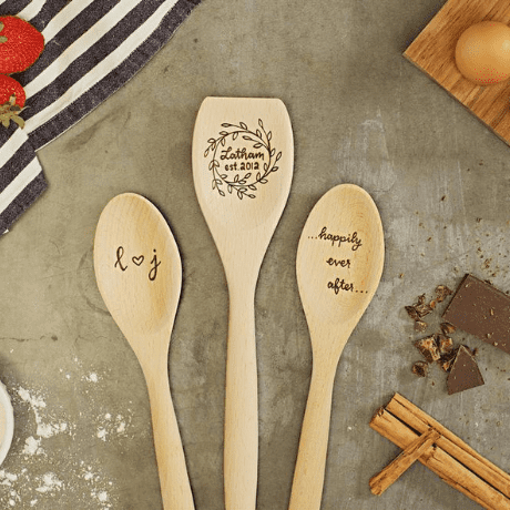 Personalized Wedding Gift Wooden Spoons