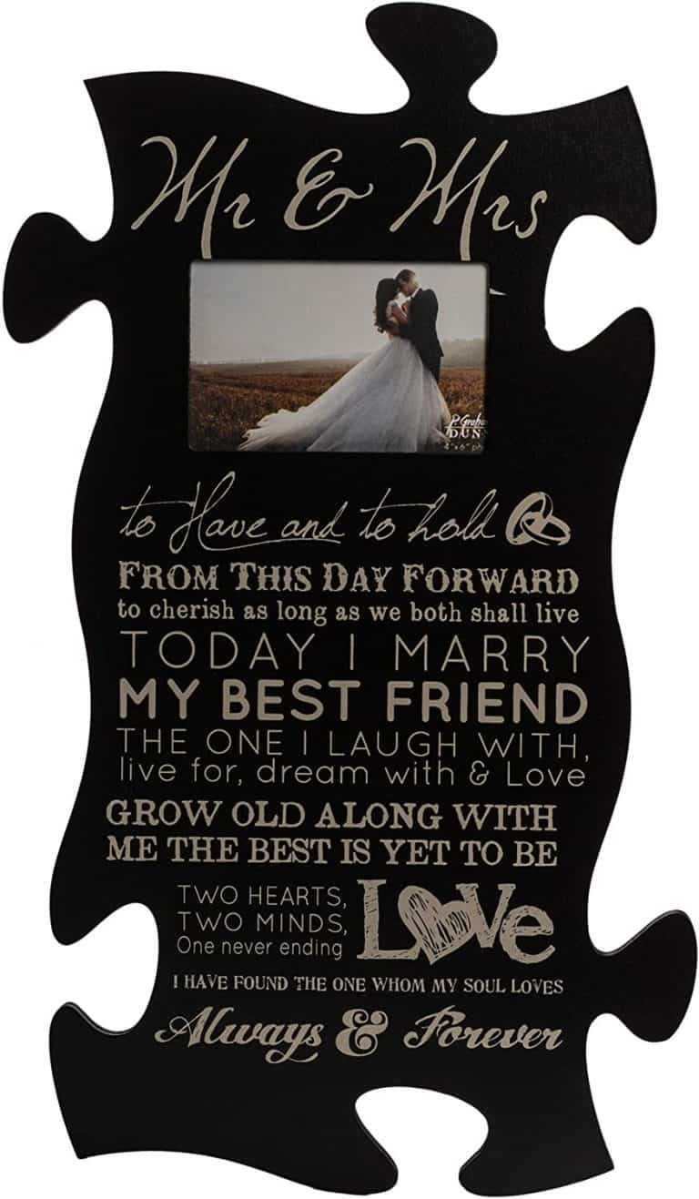 christian wedding gifts - puzzle