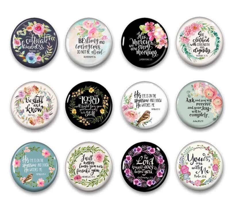 christian wedding gifts - bible bridge magnets