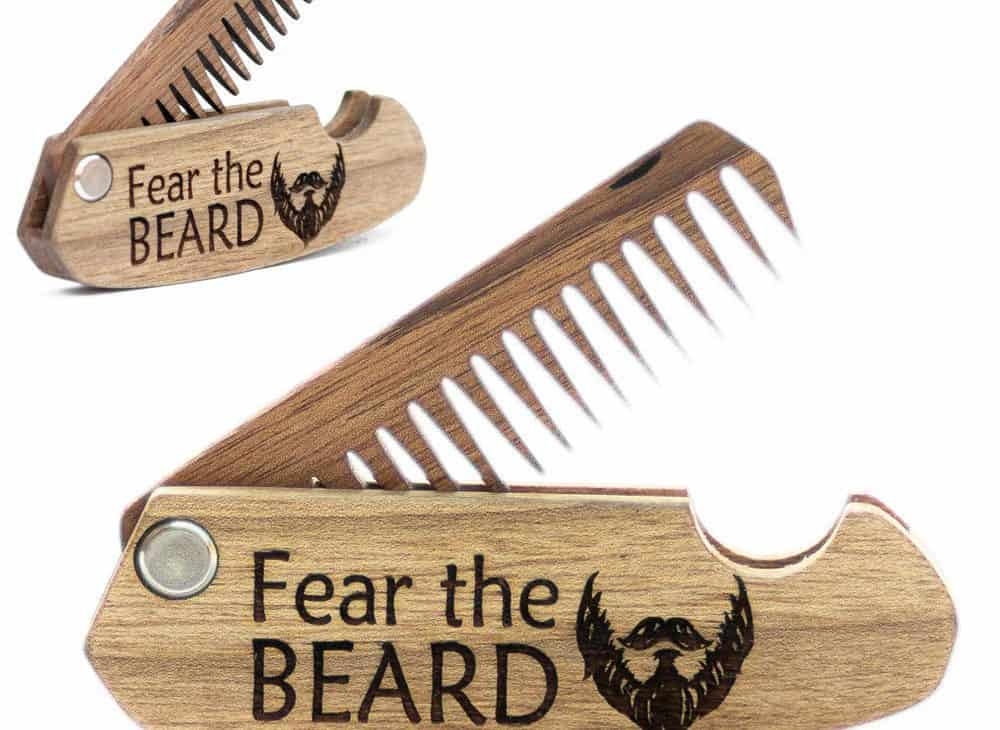 wedding gifts for brothers - beard comb
