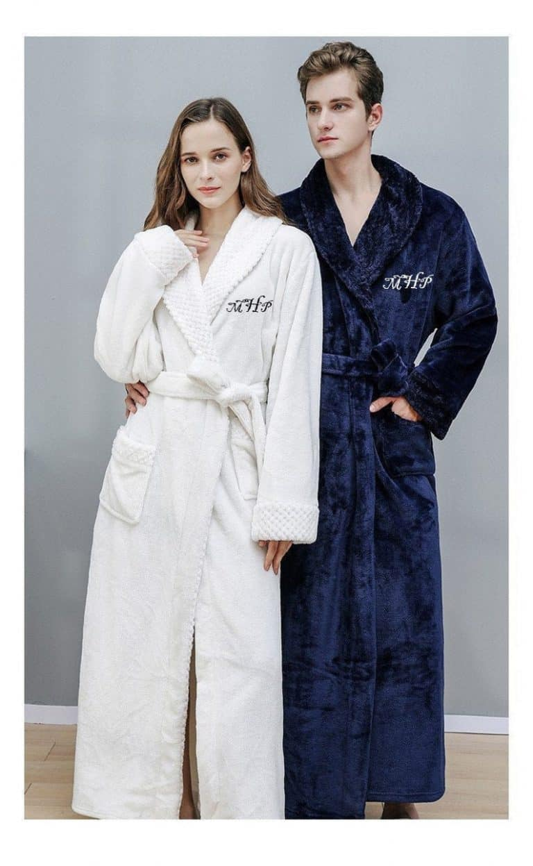 wedding gift ideas for brother - plush robes