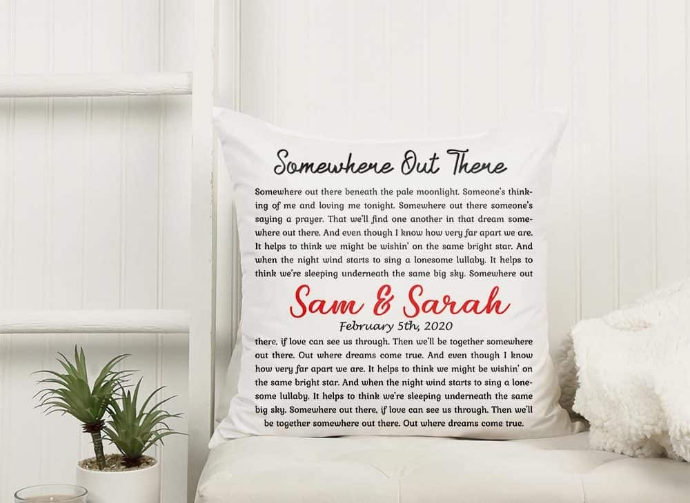 wedding gifts for brothers - sued pillow