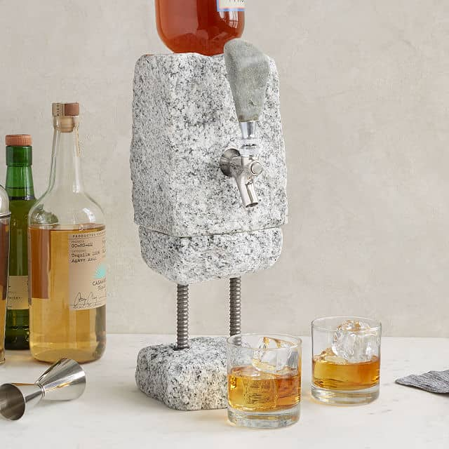 wedding gifts for brothers - Stone Drink Dispenser
