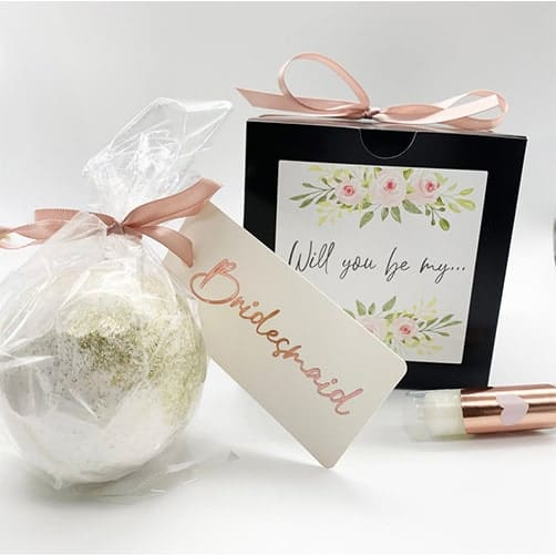 Bath Bombs Proposal Gift
