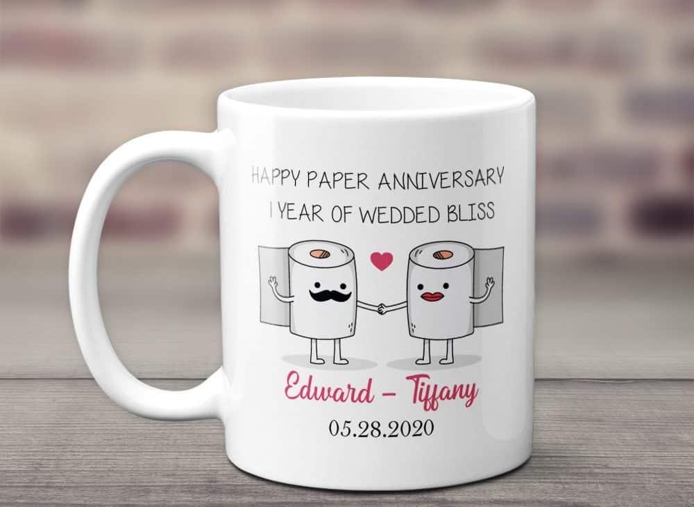 Happy Paper Anniversary