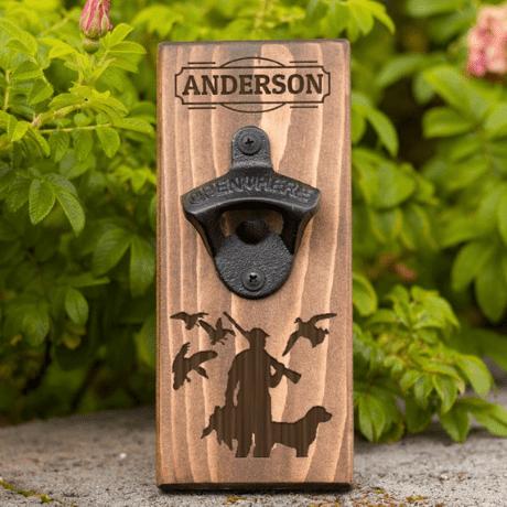 Wall Hanging Bottle Opener - outdoor groomsmen gifts