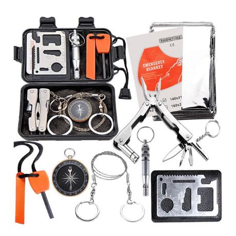 Survival Kit - outdoor groomsmen gifts