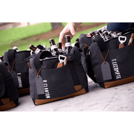 Cooler Bag with Strap - personalized groomsmen gifts