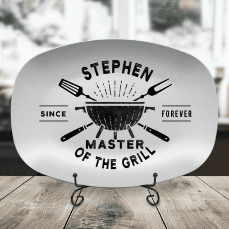 Personalized BBQ Grilling Plate