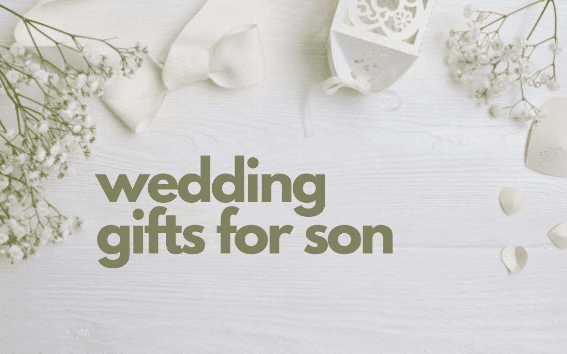 wedding gifts for son - thumbnail