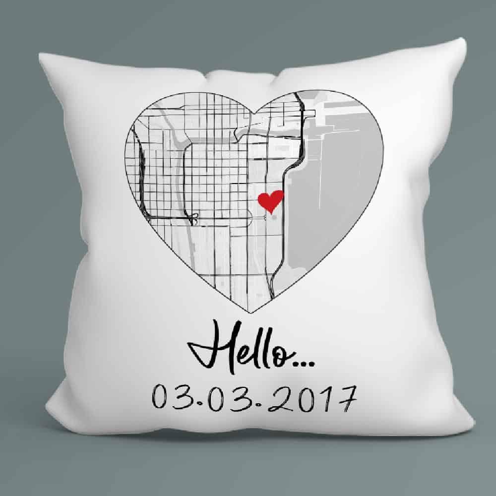 Custom Suede Pillow