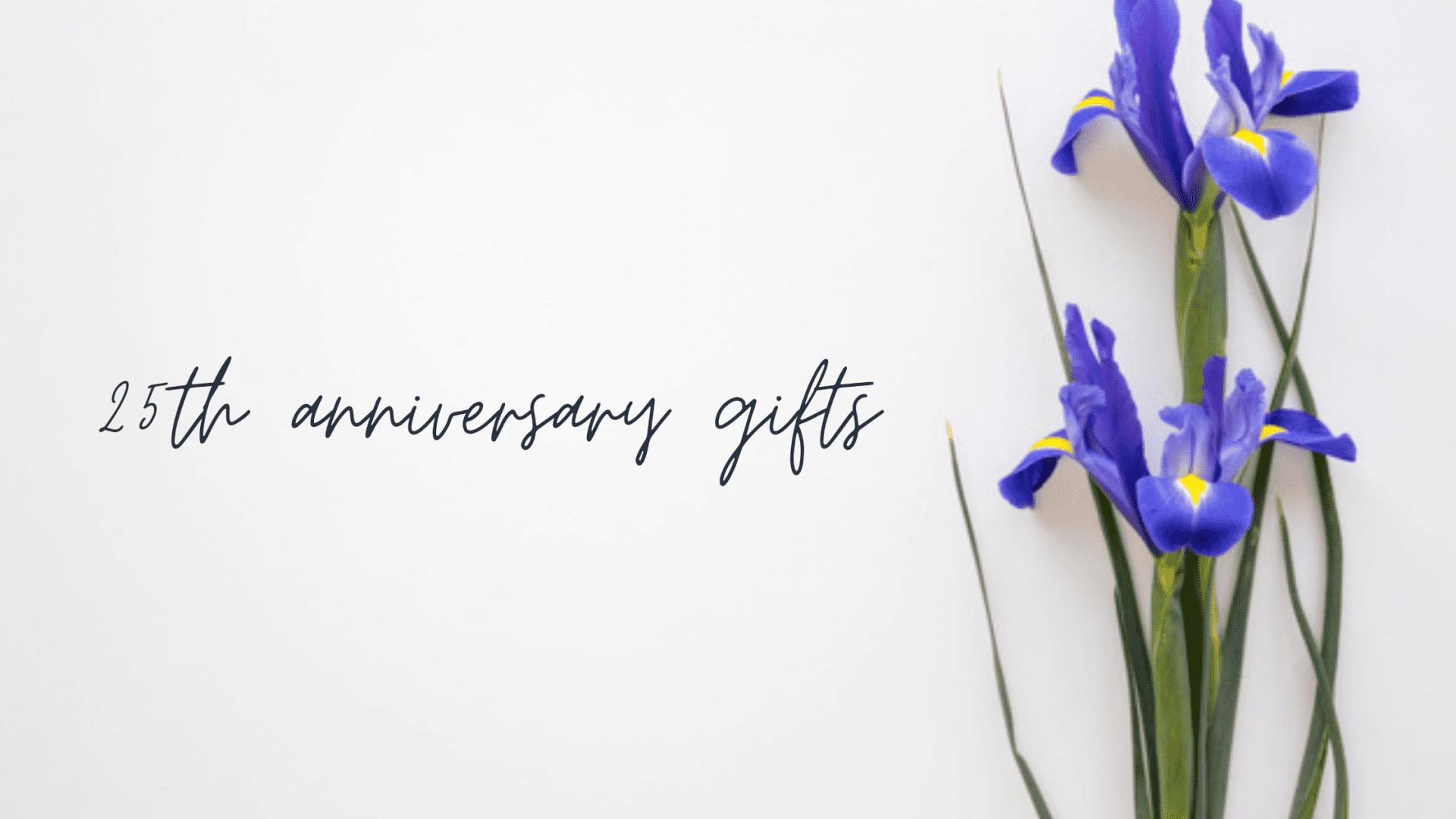 25th anniversary gifts - thumbnail