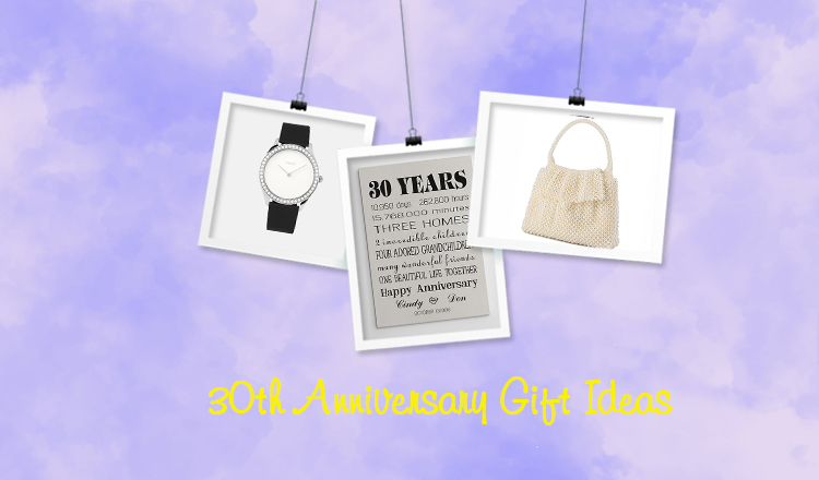 The Best 30th Anniversary Gifts for Your Parents or Spouse