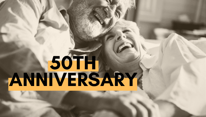 35+ 50th Anniversary Gift Ideas To Commemorate the Golden Anniversary
