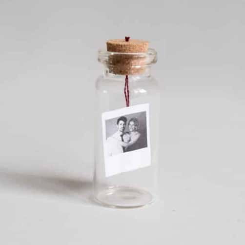 DIY Tiny Photo In A Bottle