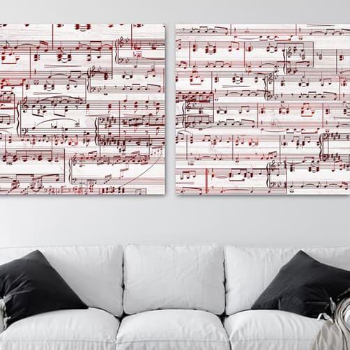 Personalized Sheet Music Art