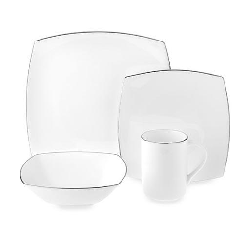 Platinum Dinnerware Collection