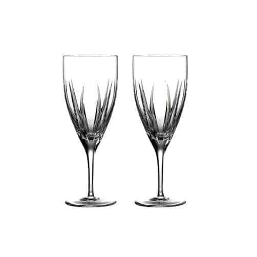 15th wedding anniversary gift:Tonn Set of 2 Iced Beverage Glasses