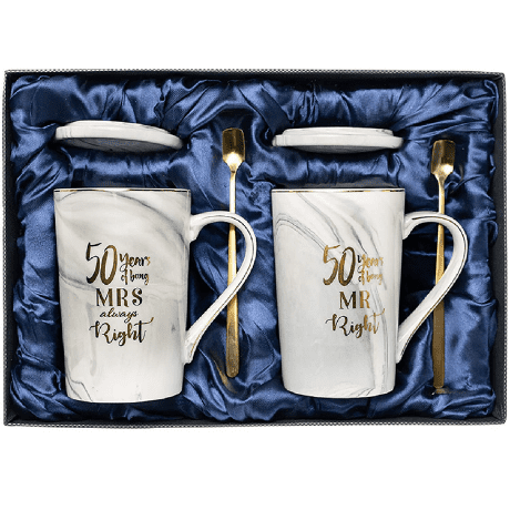 Mug - 50th anniversary gifts