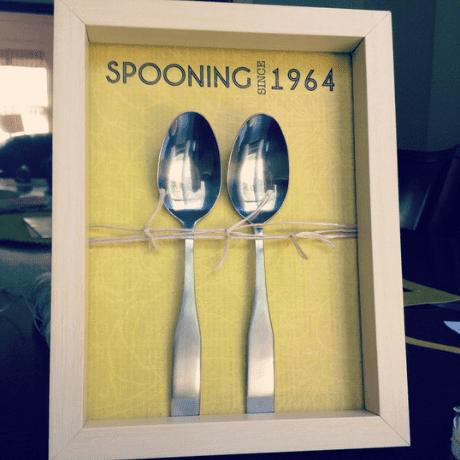 DIY Spooning Display