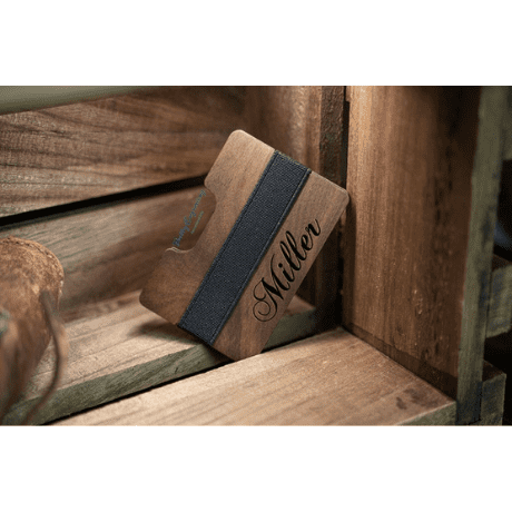 Engraved Wallet - 5 year anniversary gift
