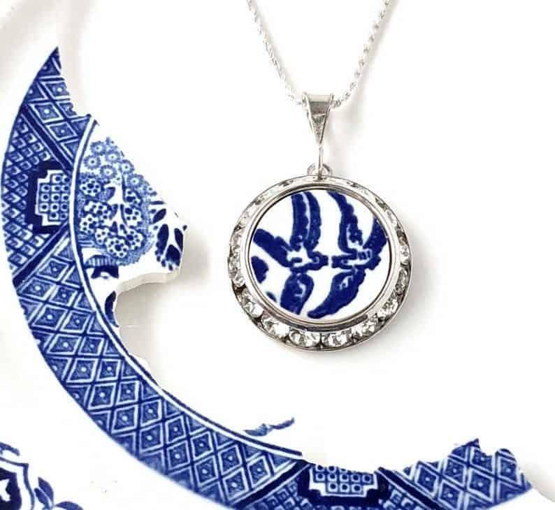 Love Birds China Necklace