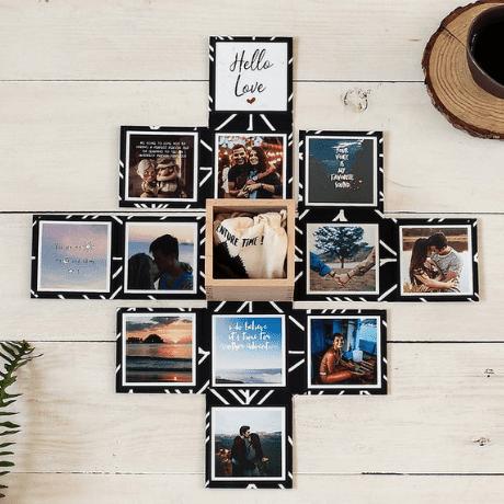 Personalised Memory Box - 5 year anniversary gift