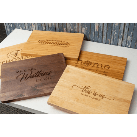 Personalized Cutting Board - 10 year anniversary gift