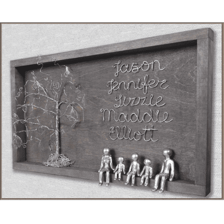 Personalized Family Tree - 10 year anniversary gift