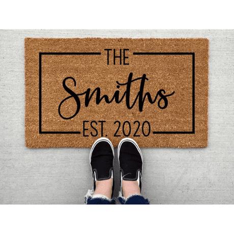 Welcome Doormat - 10 year anniversary gift