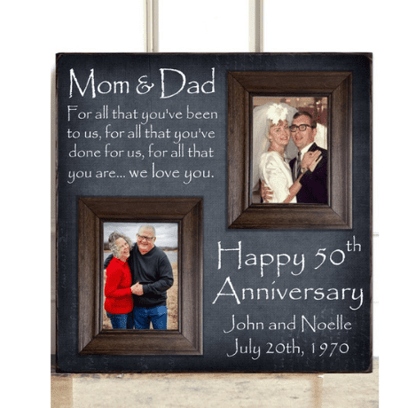 Then and Now Picture Frame